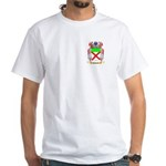 Pownell White T-Shirt