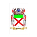 Pownell Sticker (Rectangle 50 pk)