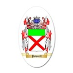 Pownell 35x21 Oval Wall Decal