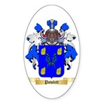 Powlett Sticker (Oval 10 pk)