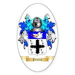 Powles Sticker (Oval)