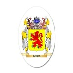 Powis 20x12 Oval Wall Decal