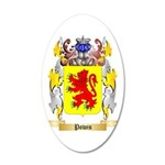 Powis 35x21 Oval Wall Decal