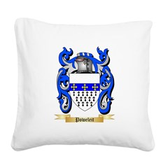 Poweleit Square Canvas Pillow