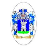 Poux Sticker (Oval 10 pk)