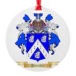 Pounder Round Ornament