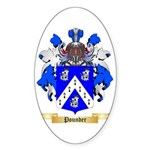 Pounder Sticker (Oval 50 pk)