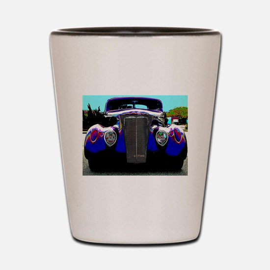 Classic & Exotic Cars - Hot Rod Shots Shot Glass