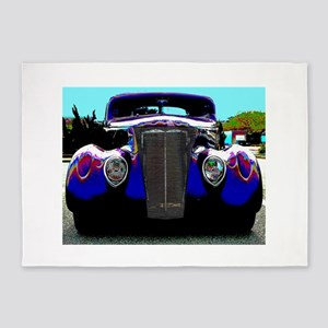 Classic & Exotic Cars - Hot Rod Sho 5'x7'Area Rug
