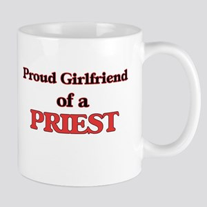 Proud Girlfriend of a Priest Mugs