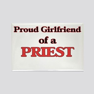 Proud Girlfriend of a Priest Magnets