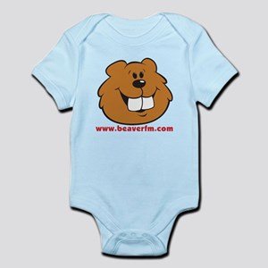 Beaver FM logo Infant Bodysuit