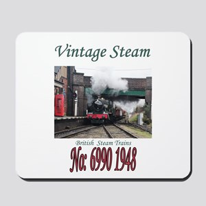 Vintage Steam Railway Train number 6990 Mousepad