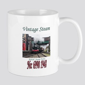 Vintage Steam Railway Train number 6990 at th Mugs