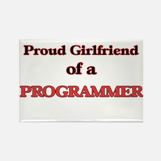 Proud Girlfriend of a Programmer Magnets