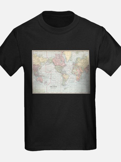 Vintage World Map (1901) T-Shirt