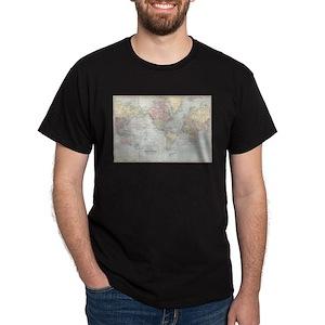 World Map T Shirts Cafepress