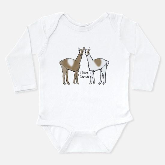 i llove llamas Body Suit