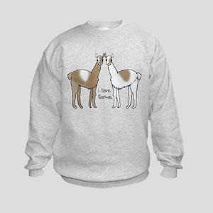 i llove llamas Sweatshirt