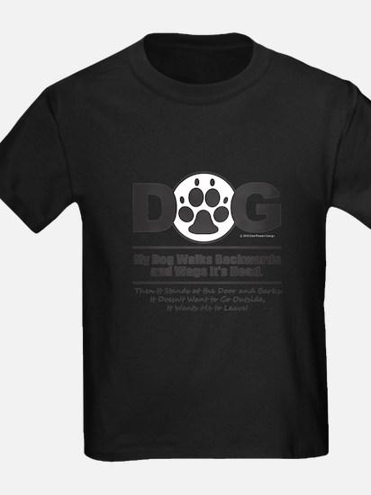 Daog Walks Backward T-Shirt