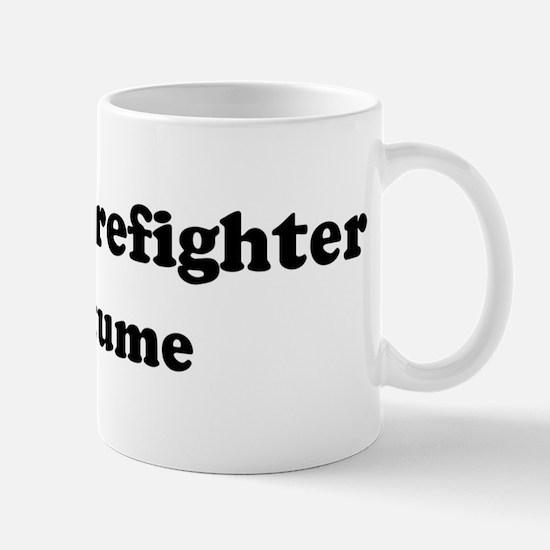 Forest Firefighter costume Mug