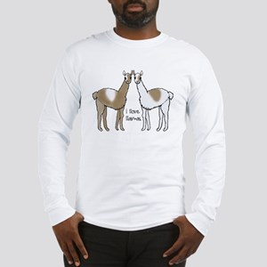i llove llamas Long Sleeve T-Shirt