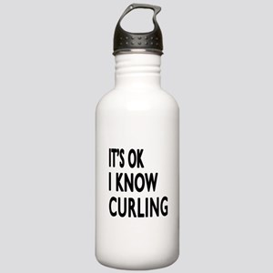 It Is Ok I Know Curlin Stainless Water Bottle 1.0L