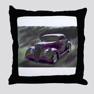 Classic & Exotic Cars - Hot Rod Shots Throw Pillow