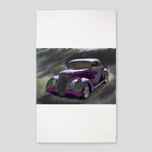 Classic & Exotic Cars - Hot Rod Shots Area Rug