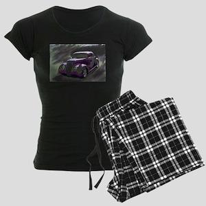 Classic & Exotic Cars - Hot Women's Dark Pajamas