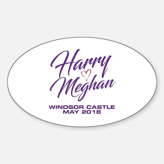 Funny Meghan Sticker (Oval)