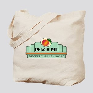 Peach Pit Tote Bag