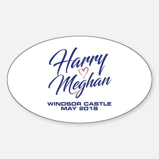 Cute Meghan Sticker (Oval)