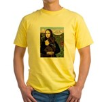 Mona's Therapy Dog (Lab-C) Yellow T-Shirt