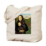 Mona's Therapy Dog (Lab-C) Tote Bag