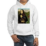 Mona's Therapy Dog (Lab-C) Hooded Sweatshirt