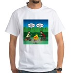 Great Campfire White T-Shirt