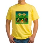 Great Campfire Yellow T-Shirt