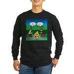 Great Campfire Long Sleeve Dark T-Shirt