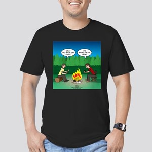 Great Campfire Men's Fitted T-Shirt (dark)