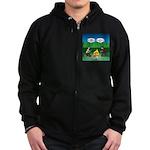 Great Campfire Zip Hoodie (dark)