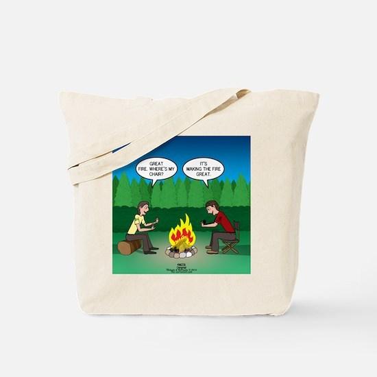 Great Campfire Tote Bag