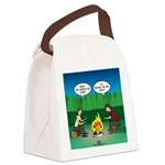 Great Campfire Canvas Lunch Bag