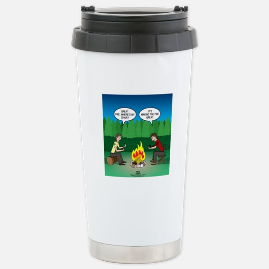 Great Campfire Stainless Steel Travel Mug
