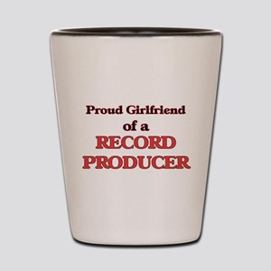 Proud Girlfriend of a Record Producer Shot Glass