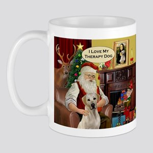 Santa's Therapy Dog (Lab-Y) Mug