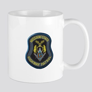 Missouri Highway Patrol Masonic Mugs