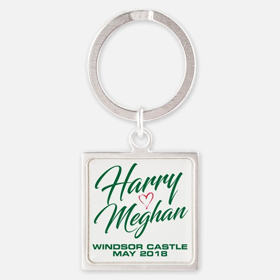 Funny Royal Square Keychain
