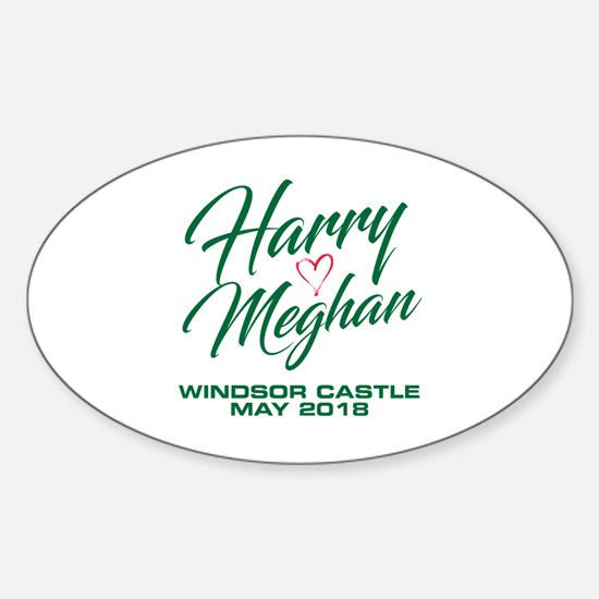 Unique Meghan Sticker (Oval)