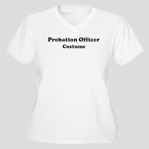 Probation Officer costume Women's Plus Size V-Neck